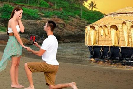 Mumbai to Kerala honeymoon tour packages